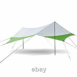 Lightweight Camping Tarp Shelter Beach Tent Sun Shade Awning Canopy Medium