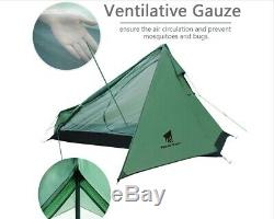 Lightweight Survival One Man 1 Person Tent Camping Hiking Trekking Backpacking
