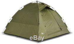Lucx Tent 1 2 Man person Bivvy Carp Camping Seconds Quick Build fishing survival