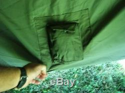MILITARY SURPLUS 10 MAN ARCTIC TENT 17x17 FT CAMPING HUNTING ARMY. NO LINER