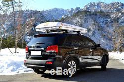 Mag-Tower 2 Man Hard Shell Roof Tent 125cm Camping Land Rover Freelander 2007-On