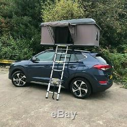 Mag-Tower 3 Man Hard Shell Waterproof Expedition Roof Top Camping Tent (BLACK)