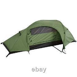 Mil-Tec Recom 1 Man One Person Waterproof Camping Military Army Tunnel Tent OG