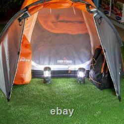 Milestone 2 Man Super Dome Camping Tent Orange