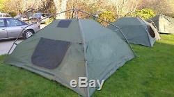 Military 10'x10' 5 Man Crew Tent Hunting/Camping Green/Tan