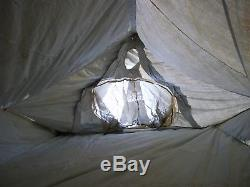 Military Surplus 2 Man Mountain Tent Cold Weather Camping Hunting Backpack Army