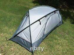 Mountain Hardwear Hunker 1 Military One Man Tent In Titanium Camping Hiking