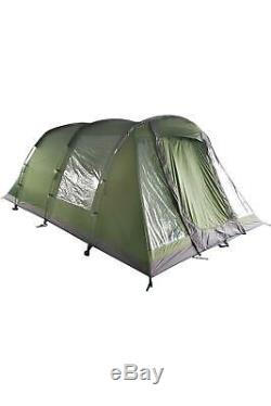 Mountain Warehouse Buxton 5 Man Tent Waterproof Family Camping Tent