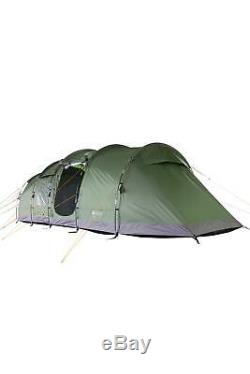 Mountain Warehouse Buxton 6 Man Tent Water Resistant Camping Tent