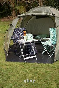Mountain Warehouse Mini Break 4 Man Tent Festival Camping Tent