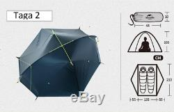 NEW 1 2 Man PERSON Lightweight Camping Hiking Tent 1.37kg Waterproof Outdoor