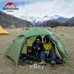 Naturehike Cloud Peak Tent Ultralight Two Men Camping Outdoor Hiking NH17K240-Y