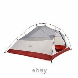 Naturehike Cloud Up Outdoor Camping Tent Ultralight 1 2 3 man 20D Silica Gel