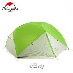 Naturehike Mongar 2 Tent, 2 Person Camping Tent Outdoor Ultralight 2 Man