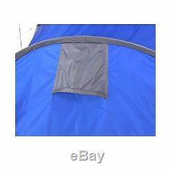New 6 Man 2 Room Living Room / Bedroom Waterproof Outdoor Camping Tent with Canopy