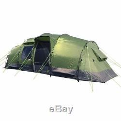 New Eurohike Buckingham Elite 6 Man Camping Family Tent Festival