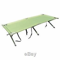 New one man Camping cot, pop up Tent w \ Sleeping Bag Air Mattress