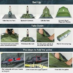 Night Cat Pop Up Tent 2 3 Man Person Camping Tent Waterproof Instant Automatic