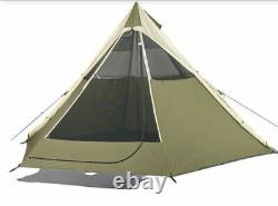 OZARK TRAIL 8 Man Tee Pee Tent, for Camping & Festival FREE DELIVERY