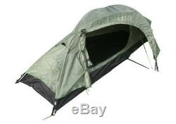 One Man Olive Green Recon Tent Army Military Camping Shelter Double Skin New