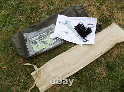 One Man Outdoor Hiking Camping Buschraft TENT RECOM Coyote Factory New