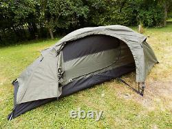 One Man Outdoor Hiking Camping Buschraft TENT RECOM Olive Green, Factory New