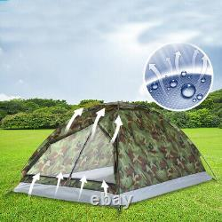 Outdoor Pop Up Tent 2 Man Shelter Camping Family Party Picnic Travel Canopy New