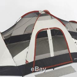 Ozark Trail 8 Person Family Dome Tent 2 Rooms 8 Man Camping Fishing Outdoor Trip
