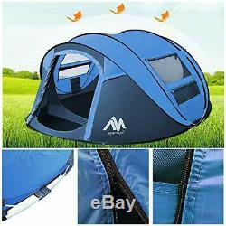 Pop Up Camping Tents for 3 to 4 Person/People/Man Quick Easy Setup Beach Pop