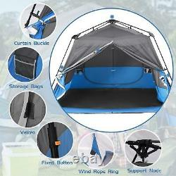 Pop Up Tent Automatic 4-8 Man Person Family Tent Camping Festival Shelter Beach