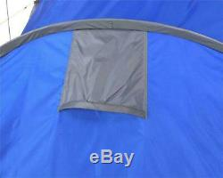 ProAction 6 Man 2 Room Tent Waterproof Camping Family Hiking + ANDES RAIN FLY