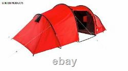 ProAction 6 Man Person 2 Room Tunnel Camping Tent Fishing Sports Waterproof