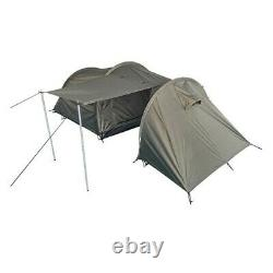 Professional Army Outdoor Camping 2 Men Tent + Storage Space OD Green New