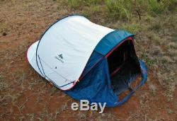 QUECHUA 2 Seconds 3 XL Fresh & Black Pop Up Camping Tent 3 Man FAST SHIPPING