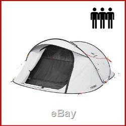 QUECHUA 2 Seconds Pop Up Easy III Fresh & Black Camping Tent 3 Man FAST SHIP