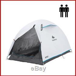 QUECHUA ARPENAZ 2 Fresh & Black Waterproof Camping Tent 2 Man