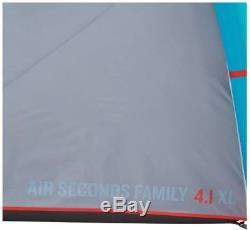 QUECHUA ARPENAZ AIR SECONDS 4.1 XL FAMILY CAMPING TENT 4 MAN Easy Setup light
