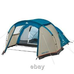 QUECHUA ARPENAZ FAMILY CAMPING TENT 4 MAN PERSON Waterproof Wind Resistant