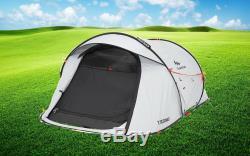 Quechua 2 Seconds Easy II FRESH & BLACK 2 Man Waterproof Pop Up Camping Tent