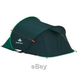 Quechua 2 Seconds Pop-up Camping Tent 2 Man Forest Green