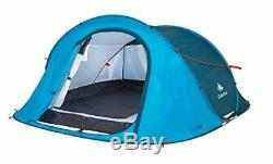 Quechua 2 Seconds Waterproof Pop Up Camping Tent Easy Assembly for 2 Man