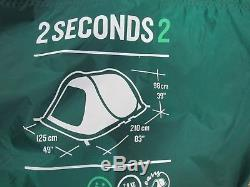 Quechua 2 Seconds Waterproof Pop Up Camping Tent Easy Assembly for 2 Man F