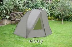 Quest Shelter MK2 Carp Fishing Bivvy Overnight 1 Man Brolly 2 Tent