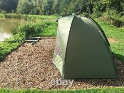 Quest Shelter MK2 Carp Fishing Bivvy Overnight 1 Man Brolly 2 Tent
