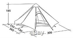 ROBENS FAIRBANKS 4 Person/Man Tipi/Teepee Base Camp, Bushcraft or Family Tent