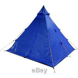 Regatta Zee Fest 4 Man Durable Waterproof Camping Tipi Tent