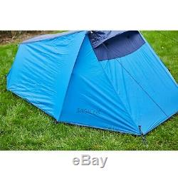 SAFACUS 2 Man Waterproof Camping Tent, Lightweight Double layer Easy Set Up f