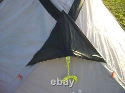 STATION13 2 Man Tent True 2 Person Lightweight Camping Tent GREY 2.75kg