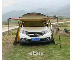 Six Man 6 Person Family Camping Tent Waterproof Tunnel Touring Car Road Trip Big