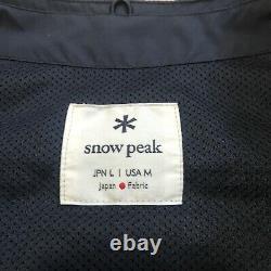 Snow Peak 2L Octa Vest Black Medium Titanium Tent Camping